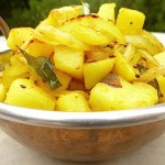 Dry Sri Lankan Potato Curry