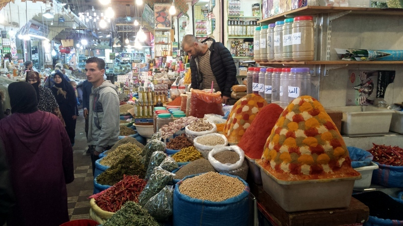 Another spice seller in Marrakesh