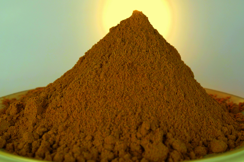 A mound of cumin, from Morocco